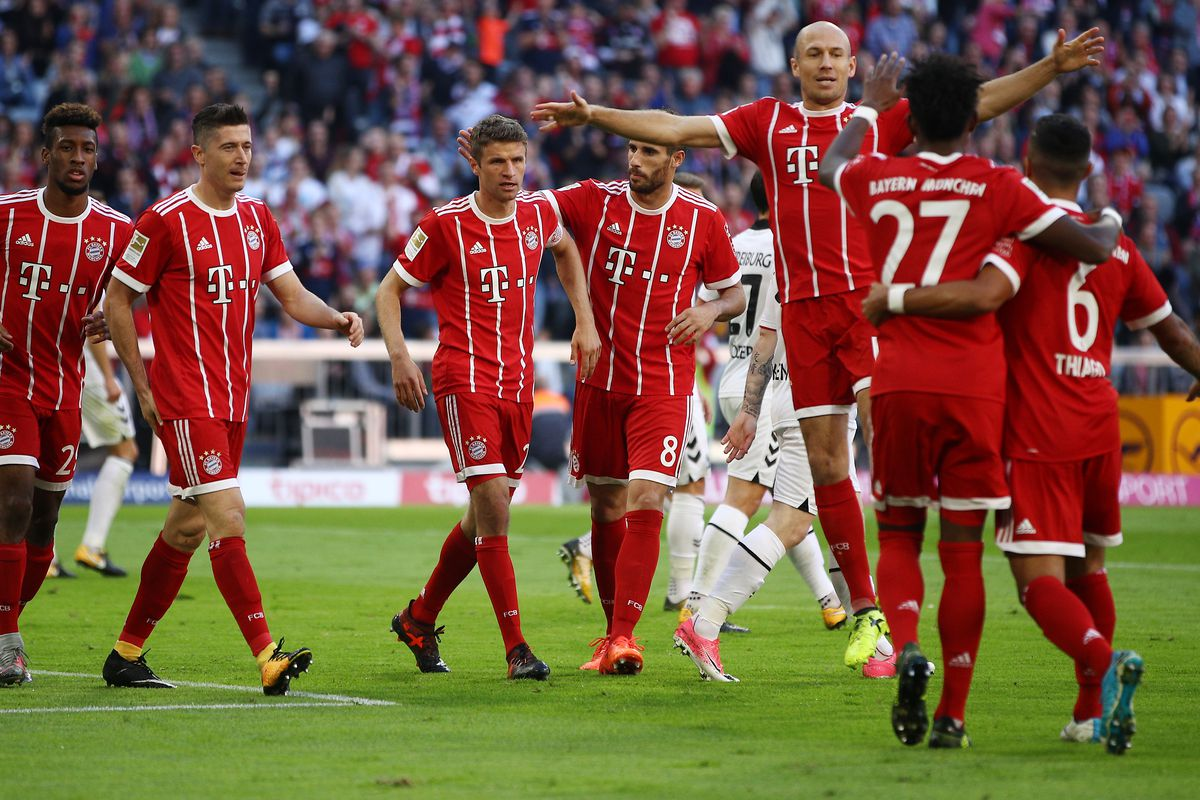 Match Awards From Bayern Munich S Comprehensive 5 0 Win Over Sc Freiburg Bavarian Football Works