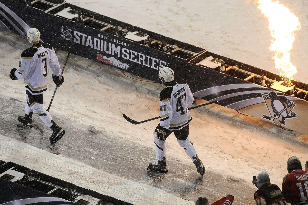 2014 NHL Stadium Series - Pittsburgh Penguins v Chicago Blackhawks