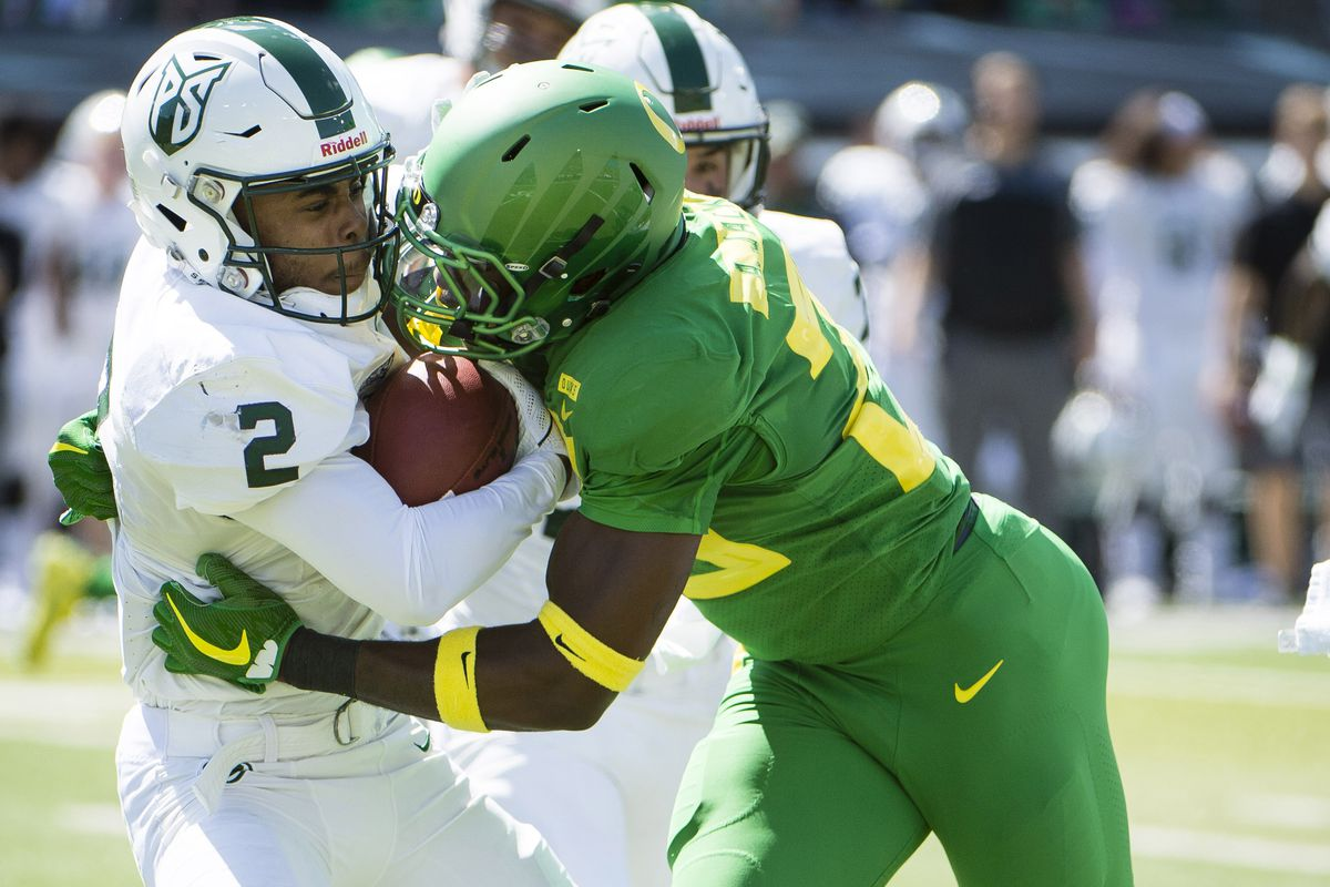 NCAA Football: Portland State at Oregon