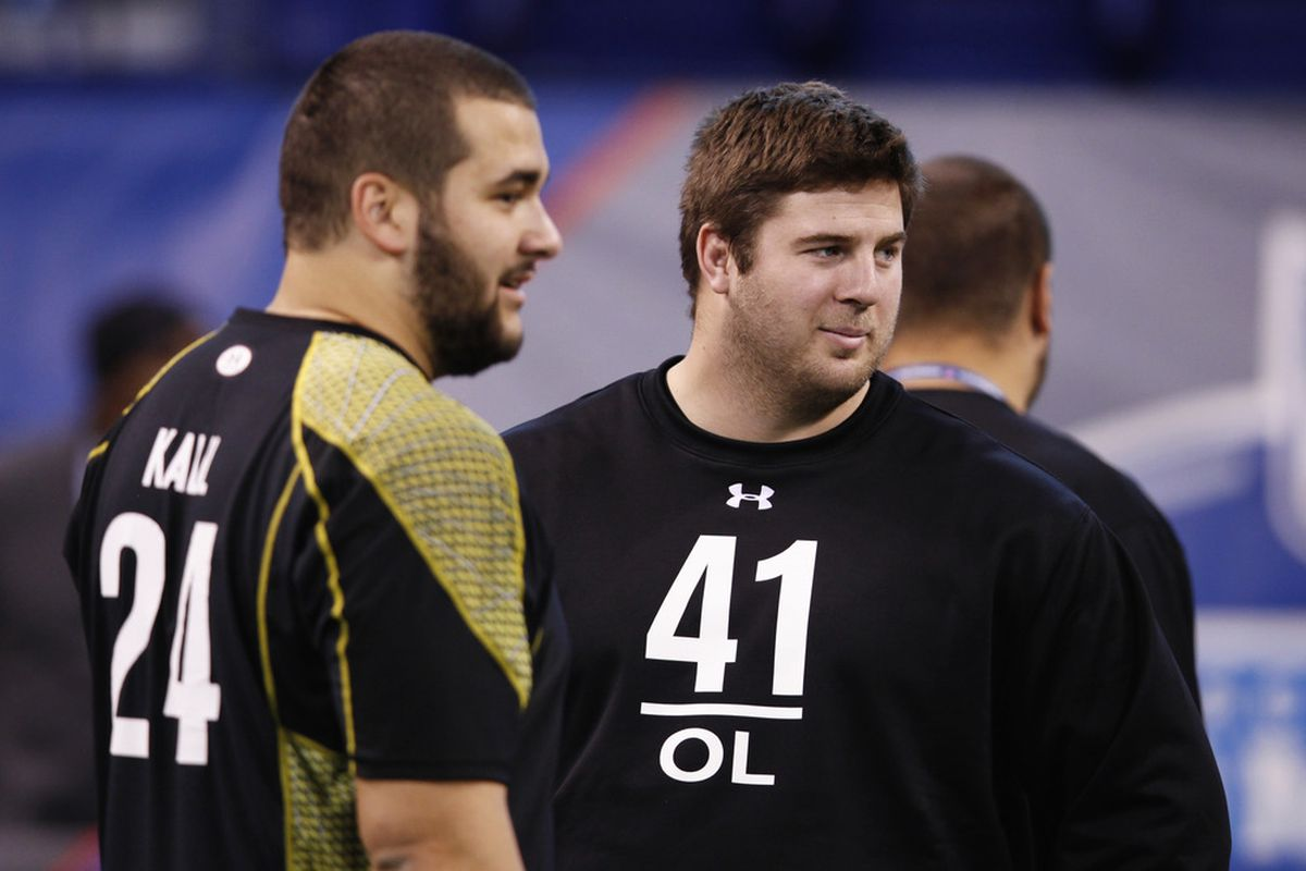 Will the Browns have their choice at right tackle this April between Matt Kalil and Riley Reiff?