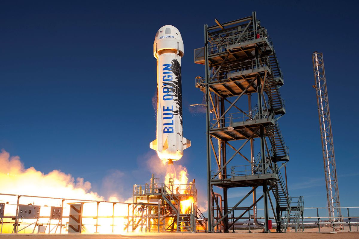 Watch Jeff Bezos get launched into space - The Verge