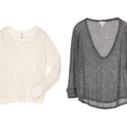 """<b>Natalie Alcala, <a href=""""http://la.racked.com"""">Racked Los Angeles</a> editor:</b> """"<b>Joie</b> makes the perfect paper-thin knits. I swear by the cream <a href=""""http://www.joie.com/joie/sweaters/avici-sweater-porcelain"""">Avici</a> sweater (no relation t"""