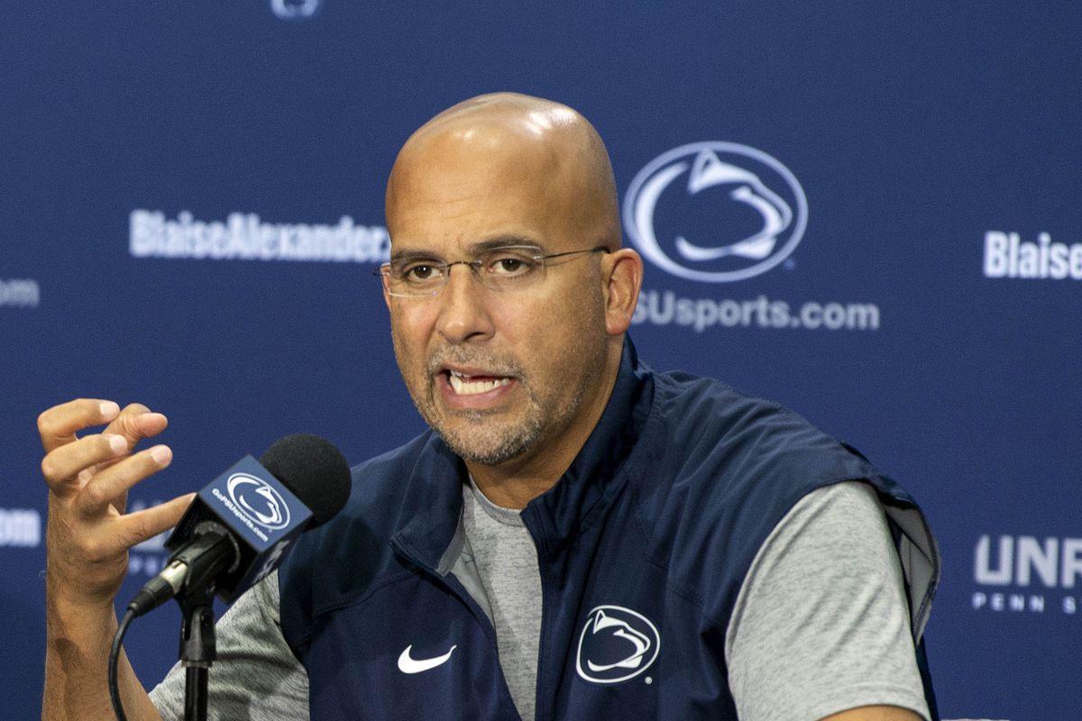 NCAA Football: James Franklin Press Conference