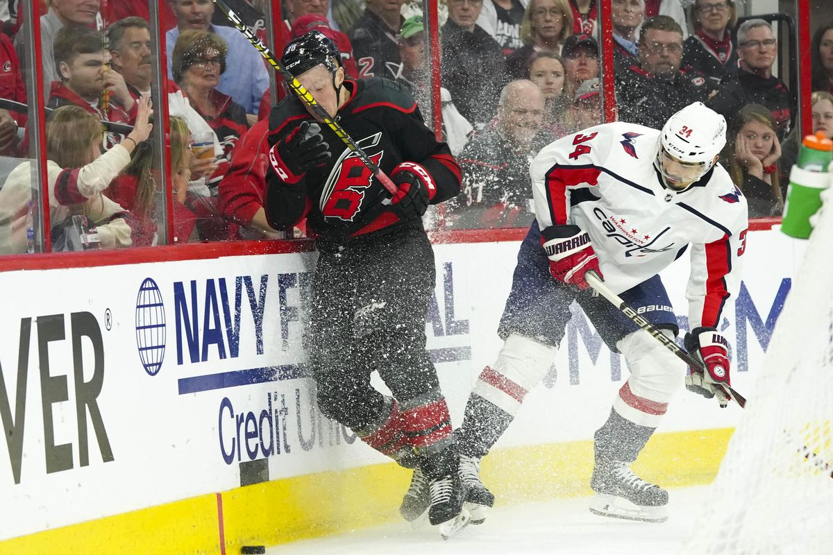 Capitals at Hurricanes Round 1, Game 6: Second Period Thread