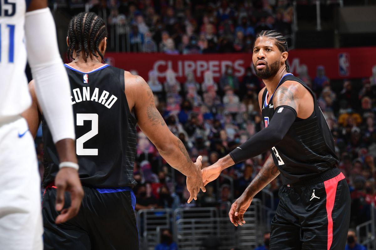 2021 NBA Playoffs - Dallas Mavericks v LA Clippers