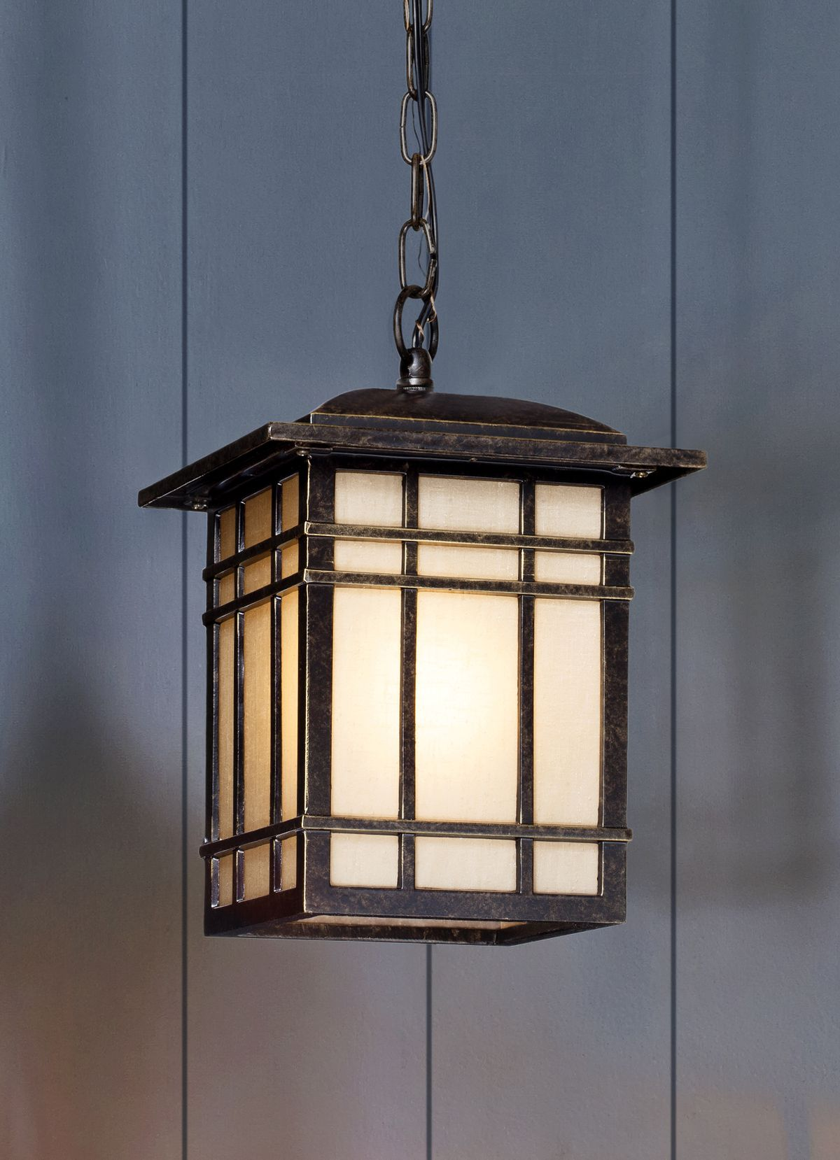 Arts And Crafts Style Outdoor Pendant