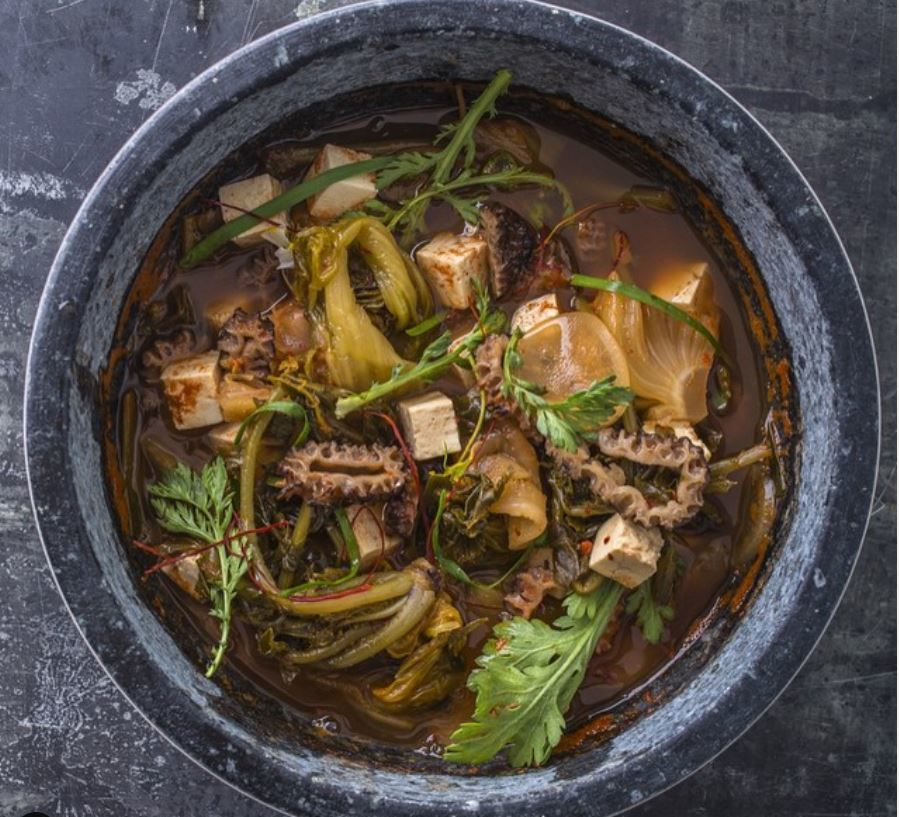 A stew from a previous incarnation of JunJu