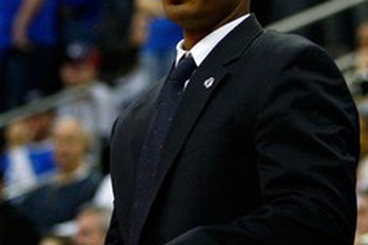Seton Hall's Associate Head Coach, Shaheen Holloway