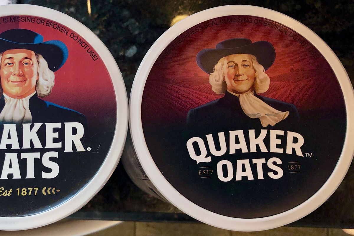 Quaker Oats quietly touches up its iconic oatmeal man, 'Larry'