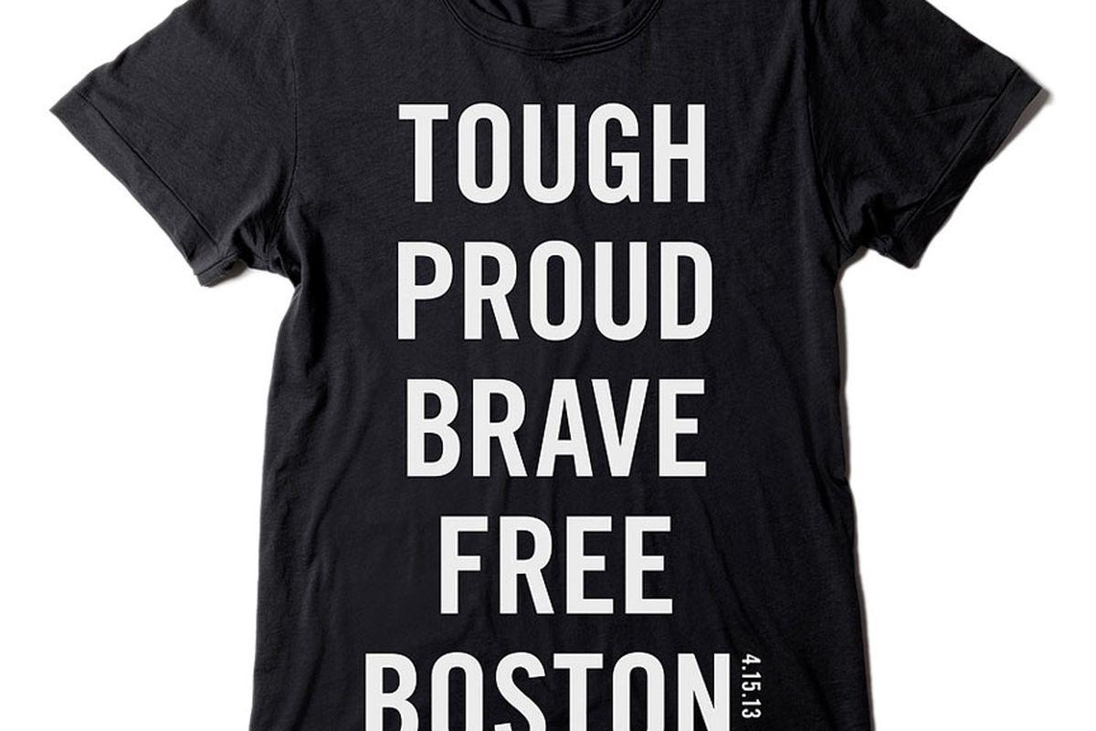 """""""Honoring Boston"""" Shirt, $20, via <a href=""""http://www.ruelala.com/event/product/71563/1411062075/1/DEFAULT"""">Rue La La</a>"""