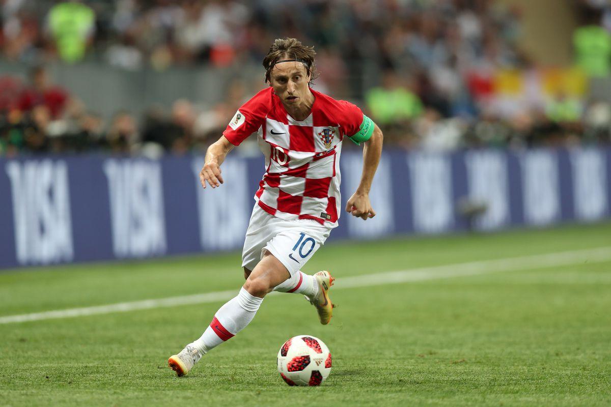 world cup 2018 luka modric was the artist that croatia needed