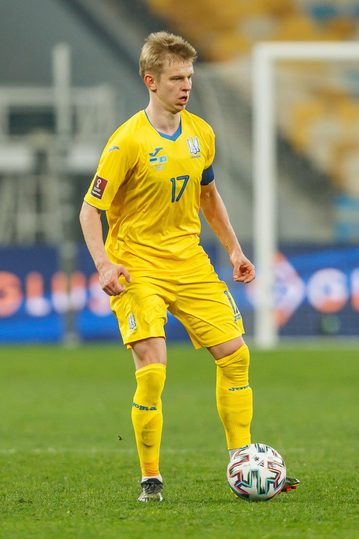 Ukraine v Kazakhstan - FIFA World Cup 2022 Qatar Qualifier