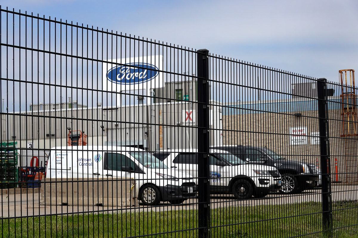 The Ford plant at 12600 S. Torrence Ave. as seen last May.