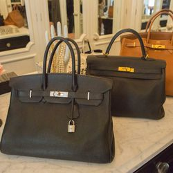 """""""These Hermès bags are really big. My kids say, 'Mom, those bags are so gross!'"""""""
