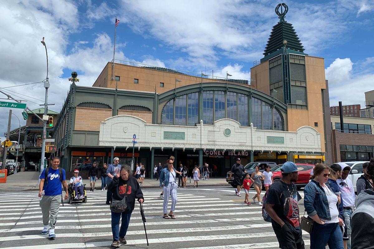 Coney Island Subway Terminal