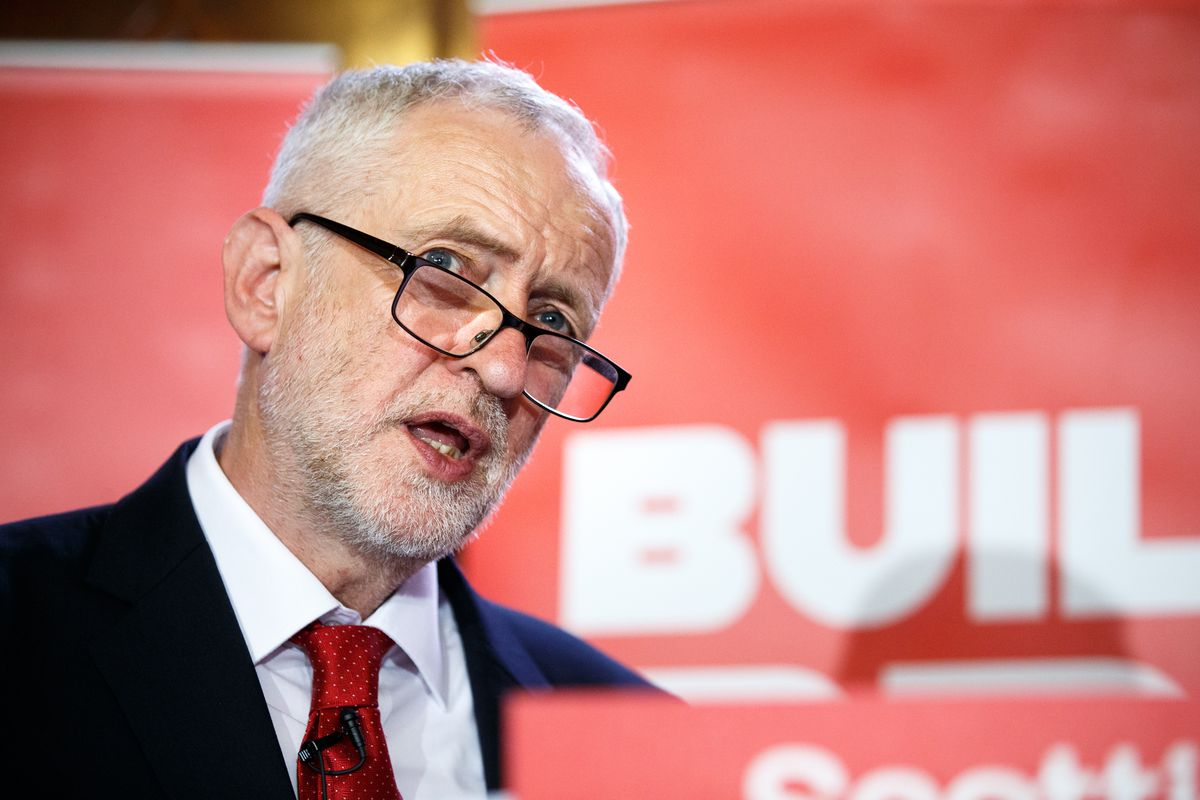Jeremy Corbyn Appeals To Government To Build New Navy Ships In Scotland