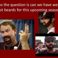 The presentation that led to MSU's beards in 2013