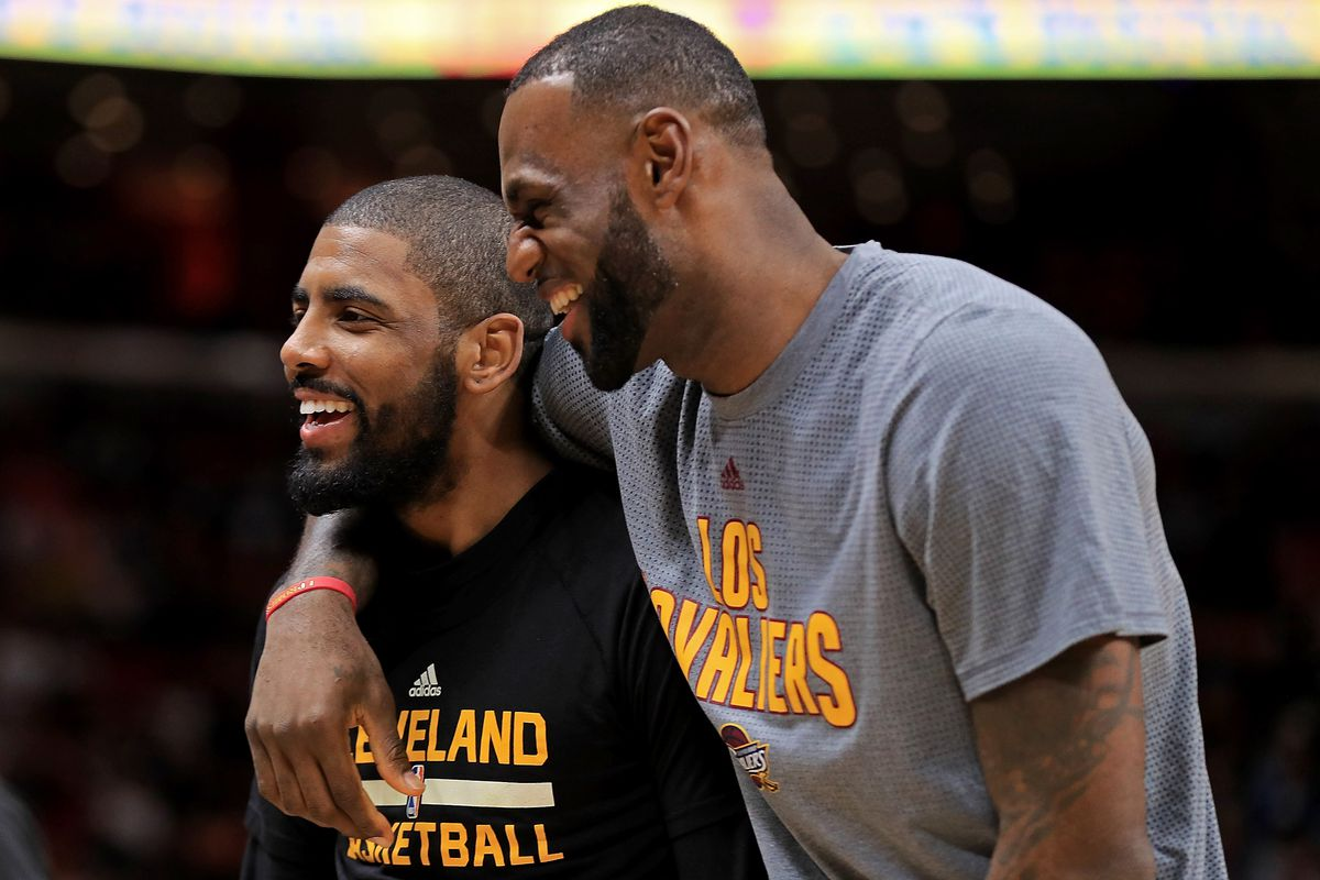 06fb3930122 Kyrie Irving compared his relationship with LeBron James to Kobe and Shaq