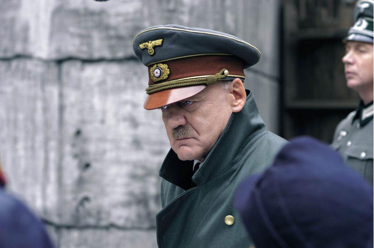 Bruno Gaz as Adolf Hitler in Downfall