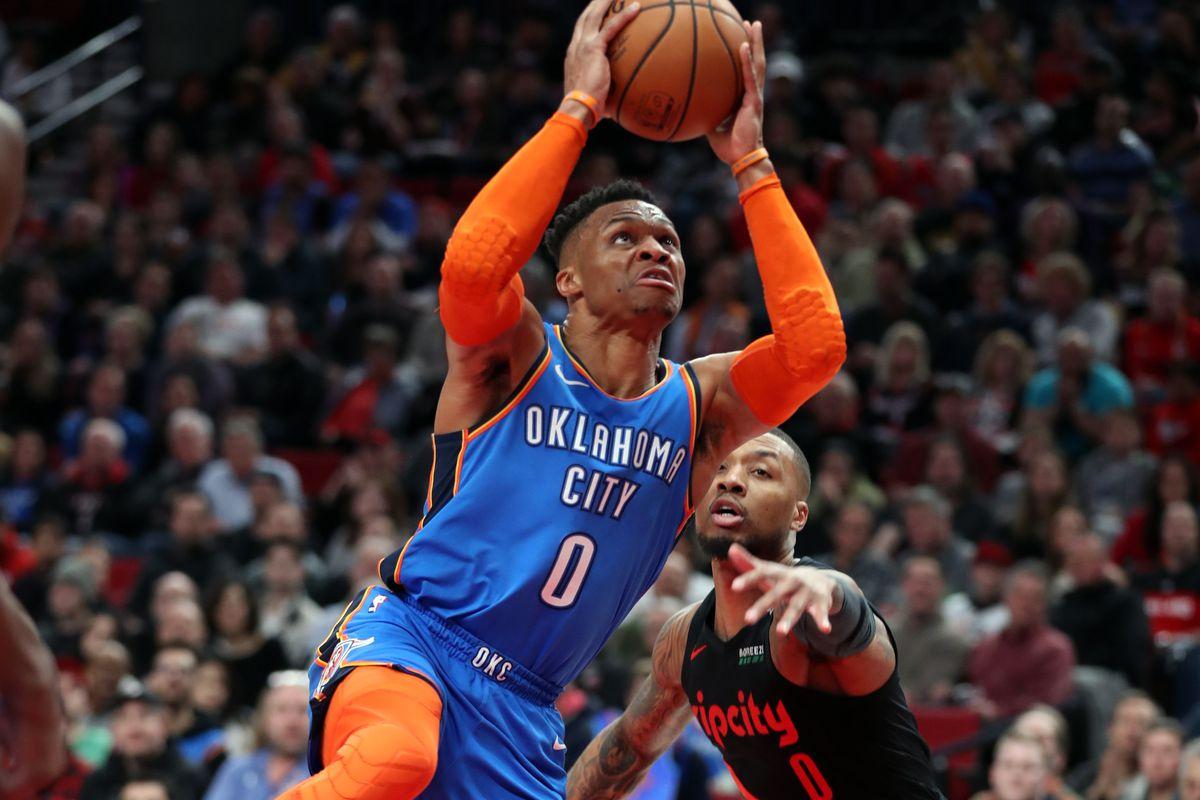 NBA: Oklahoma City Thunder at Portland Trail Blazers