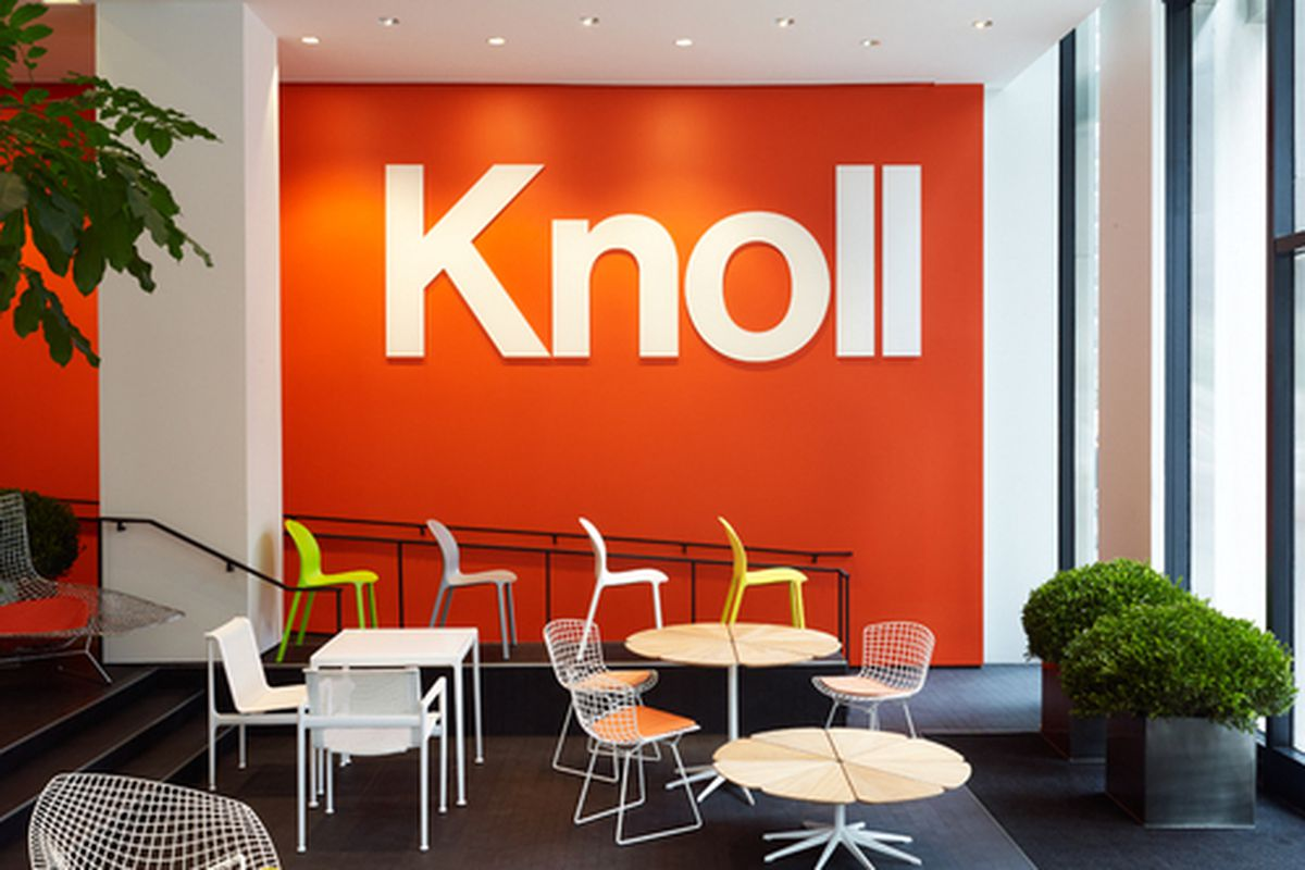 There\'s a Lot of Orange Happening in Knoll\'s Home Design Shop ...