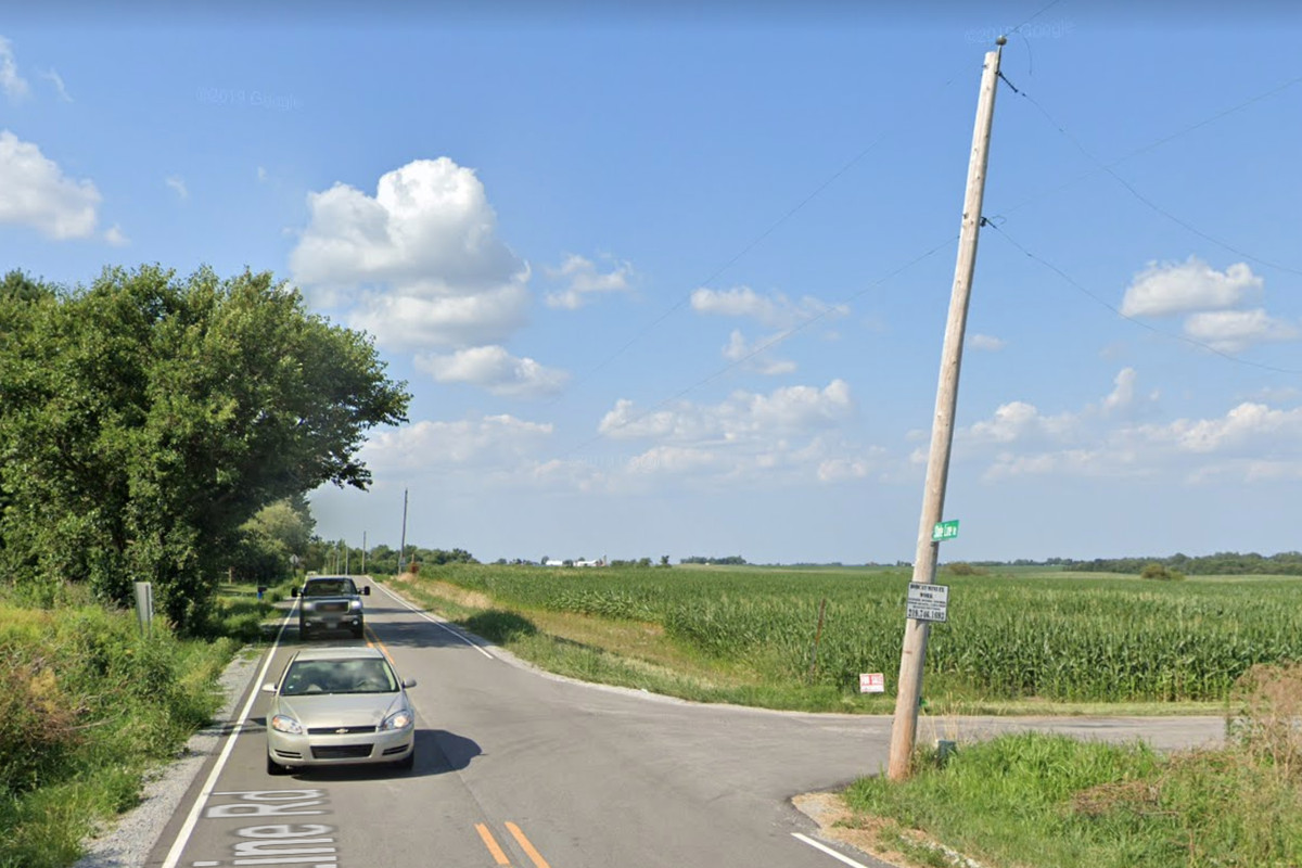 Two people died in a crash April 20, 2020, at State Line Road and 145th Avenue near Cedar Lake in Indiana.