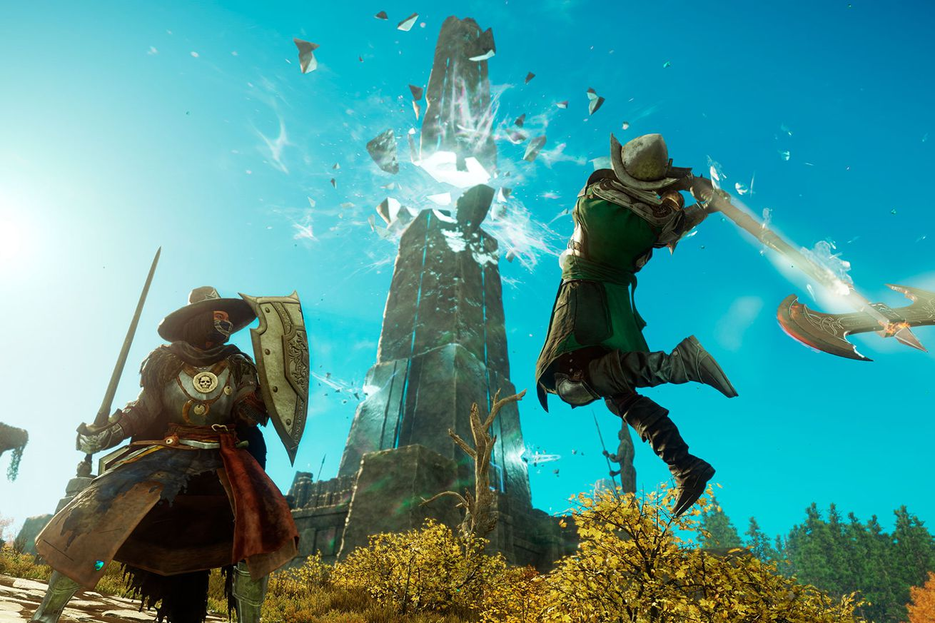 Amazon's new MMO delayed for the fourth time, but this time by just one month