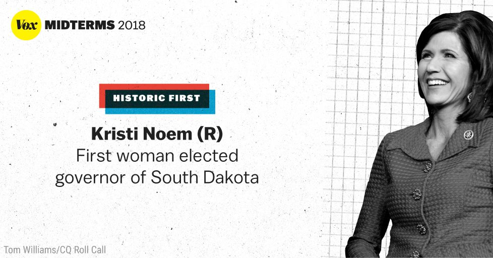 Republican Kristi Noem wins South Dakota governor race ...