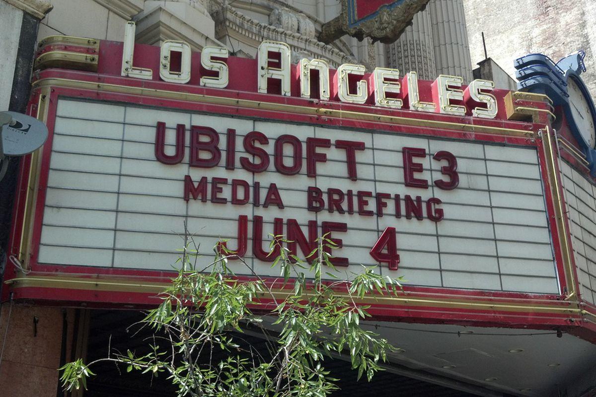 Ubisoft E3 press conference