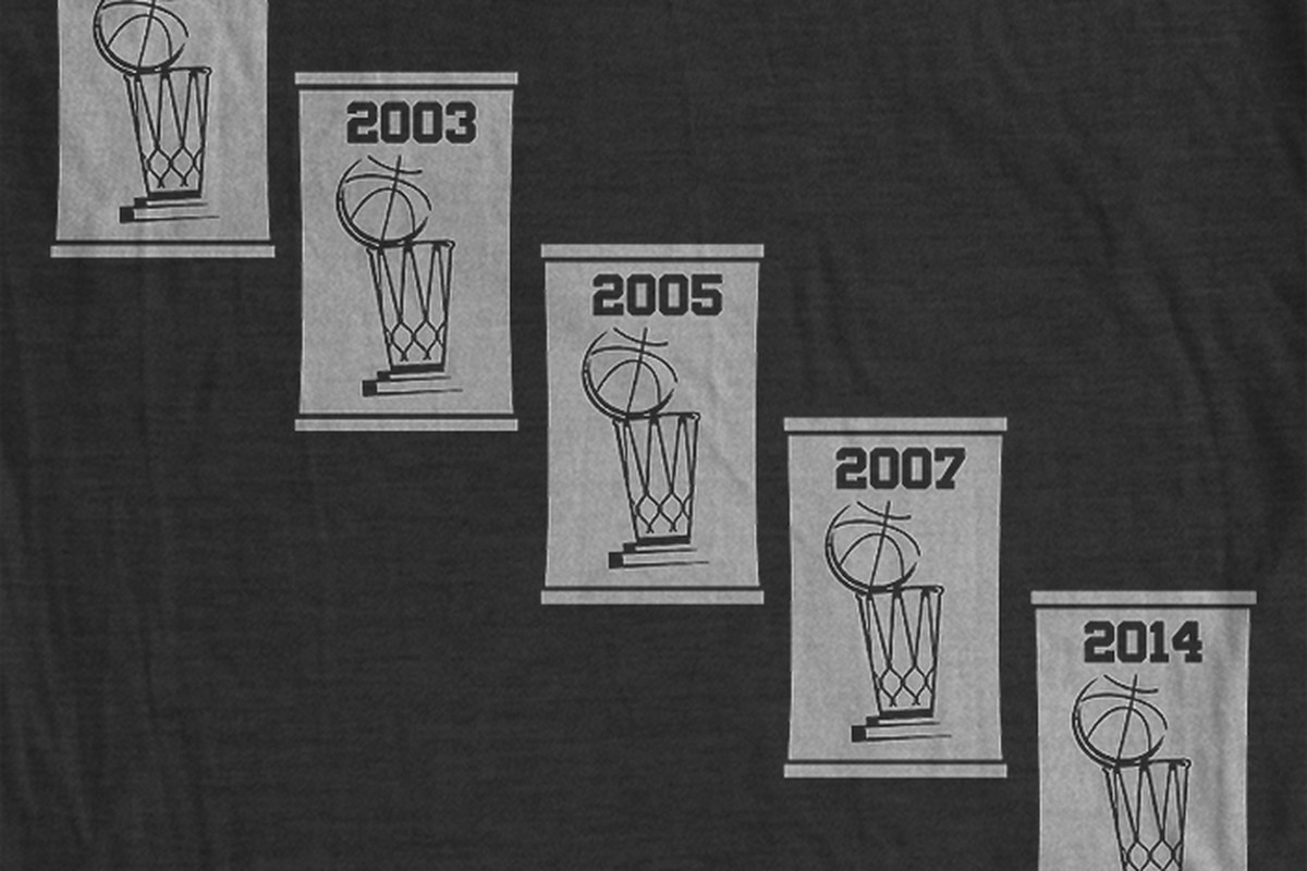 The five banners shirt is back.
