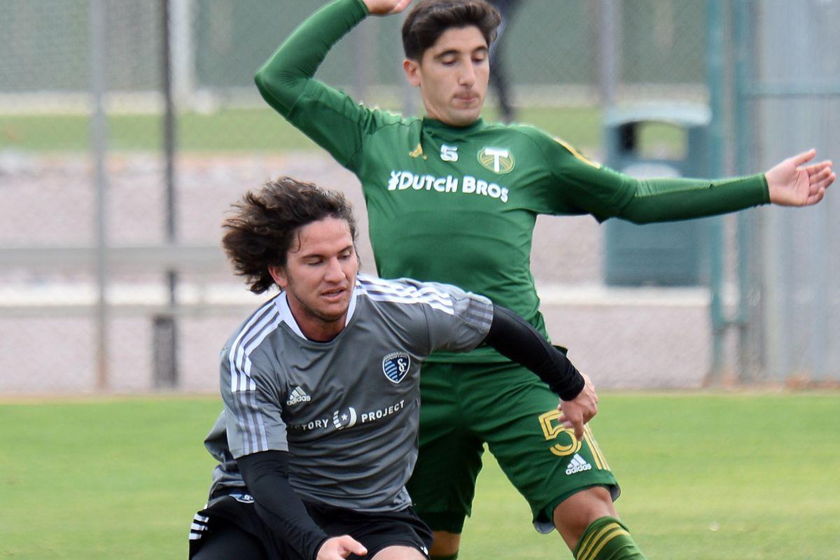 MLS: Preseason-Portland Timbers at Sporting KC