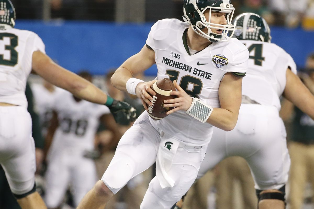 Is Connor Cook the greatest Spartan QB of all time?