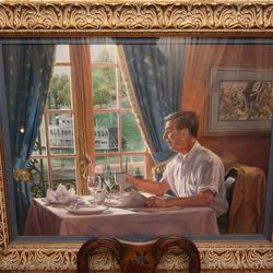 "Painting of Walt Disney. [Photo: <a href=""http://www.flickr.com/photos/aloha75/5200118757/sizes/l/in/photostream/"">aloha75 / Flickr</a>]"