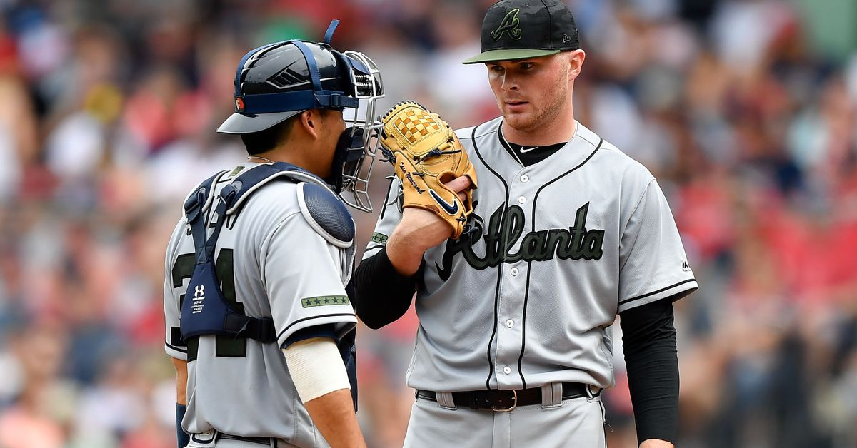 Ozzie Albies rests, Sean Newcomb takes the ball as Braves