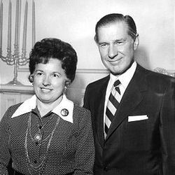 President James E. Faust and his wife, Ruth, in 1972.