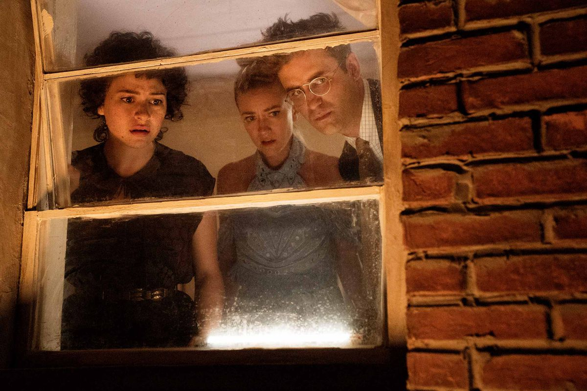 Search Party's characters investigate a mystery.