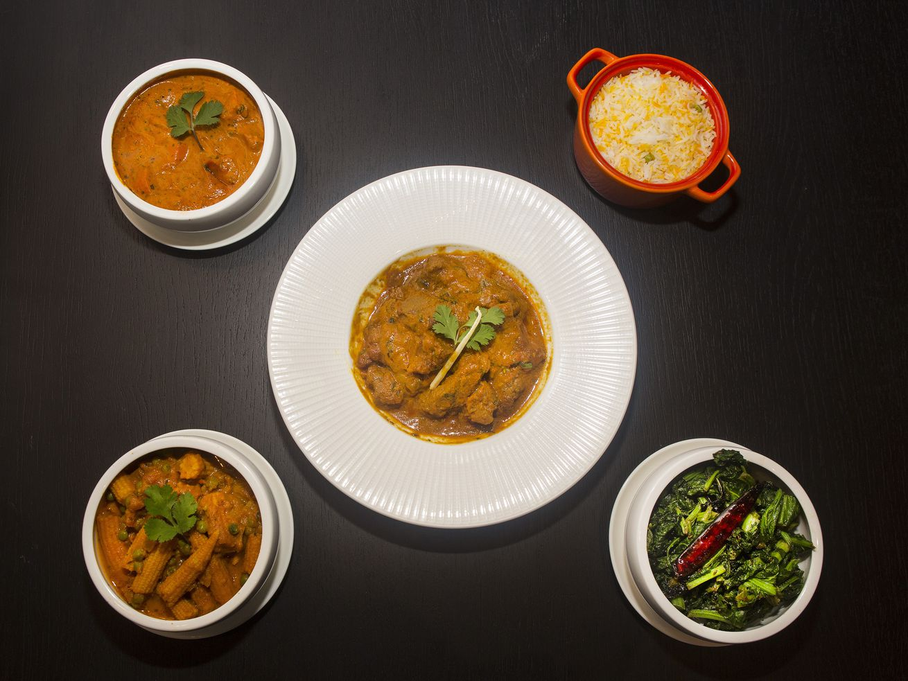 Find traditional and modern South Asian fare at Vajra.