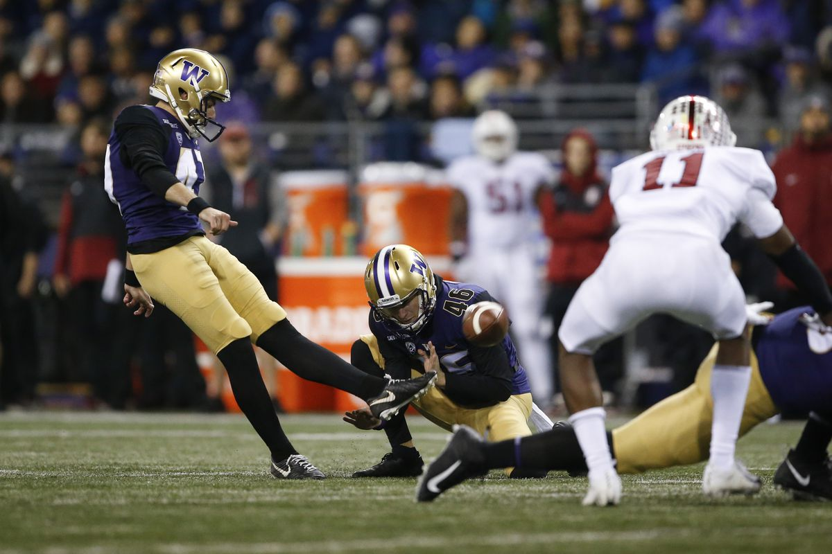 NCAA Football: Stanford at Washington