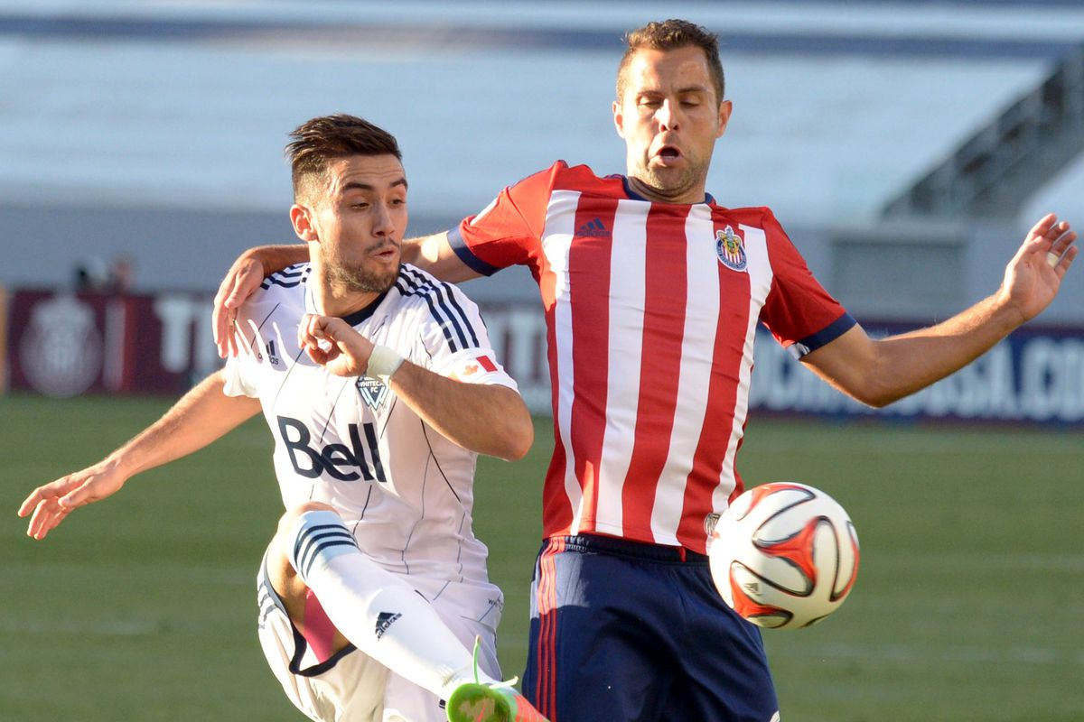 Fragoso in his final Chivas USA appearance.
