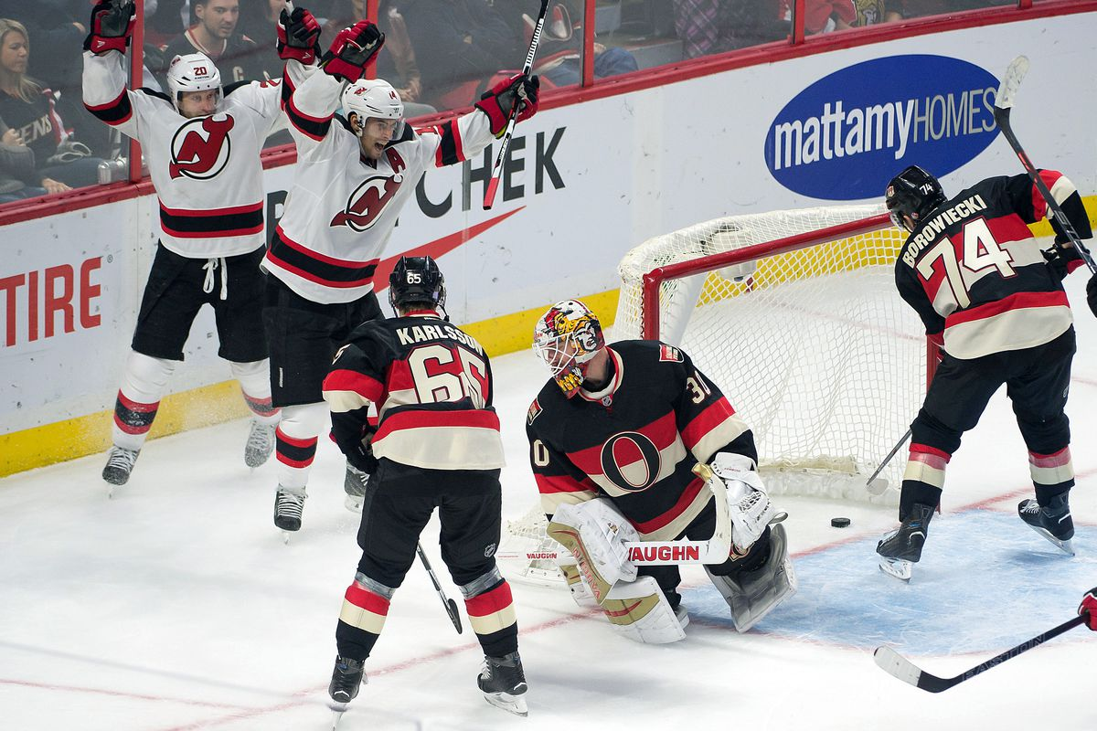 The Devils celebrated goals on Thursday night. Will they celebrate more in Buffalo tonight?