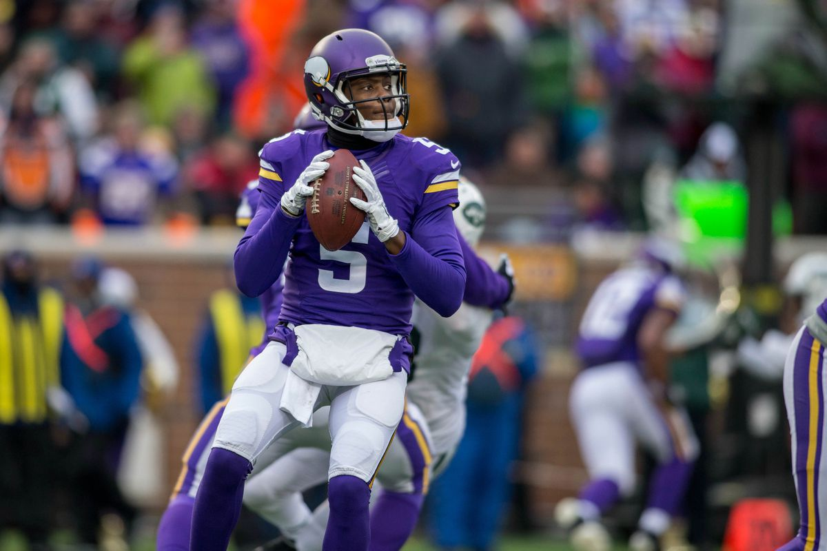Teddy Bridgewater scored the most fantasy points of any Vikings player last week against the Lions.
