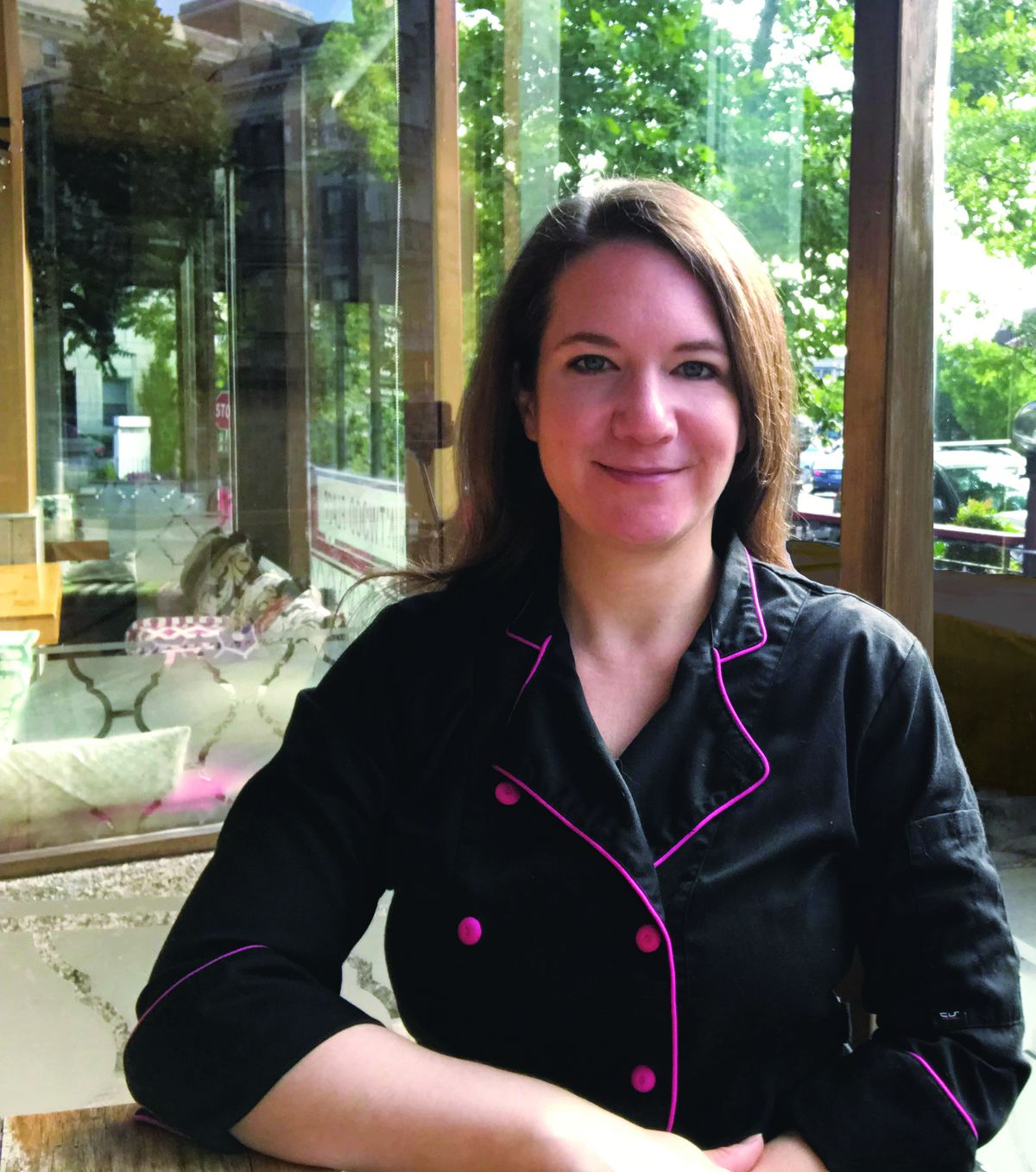 Mintwood Place pastry chef Stephanie Milne