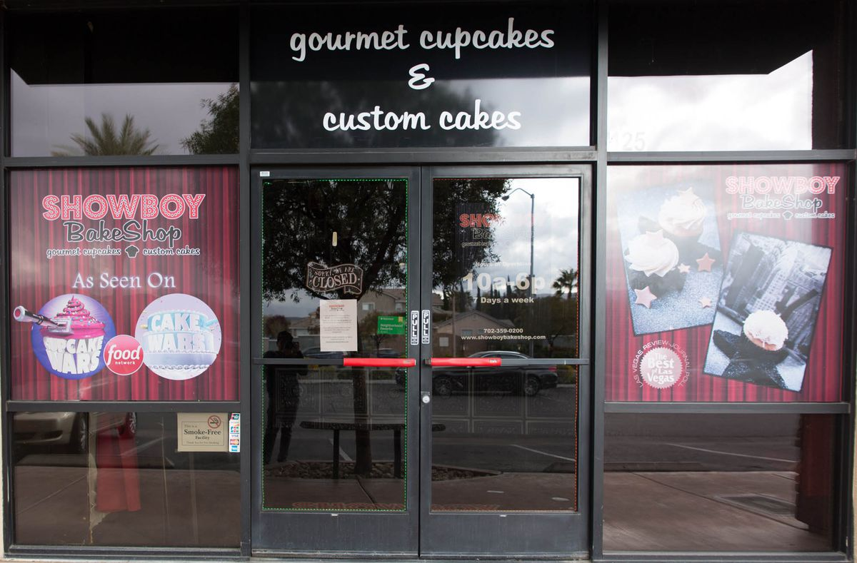 Showboy BakeShop closed temporarily in Summerlin but kept its Henderson location open.