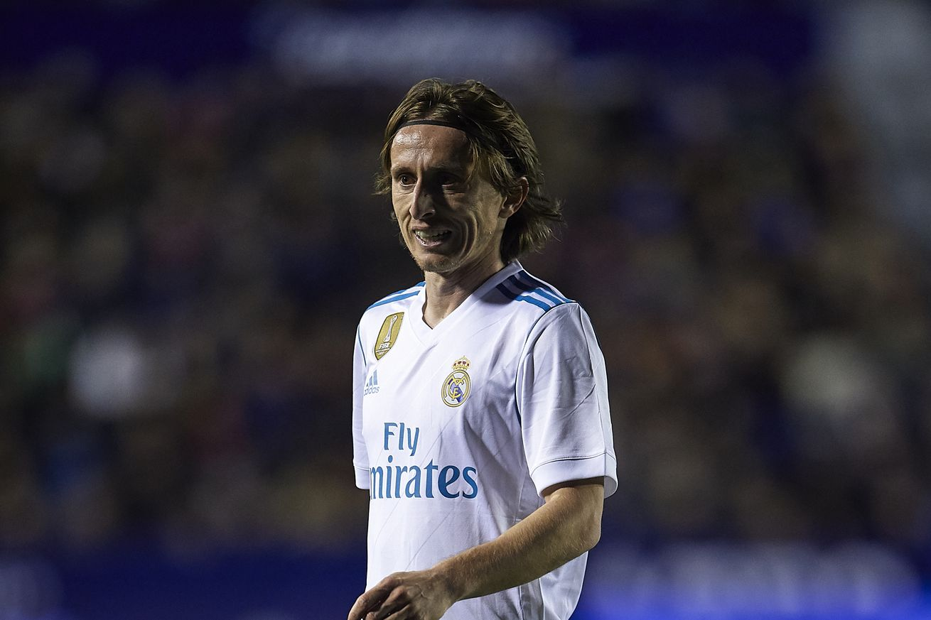 Modric injured, doubtful for the match against PSG