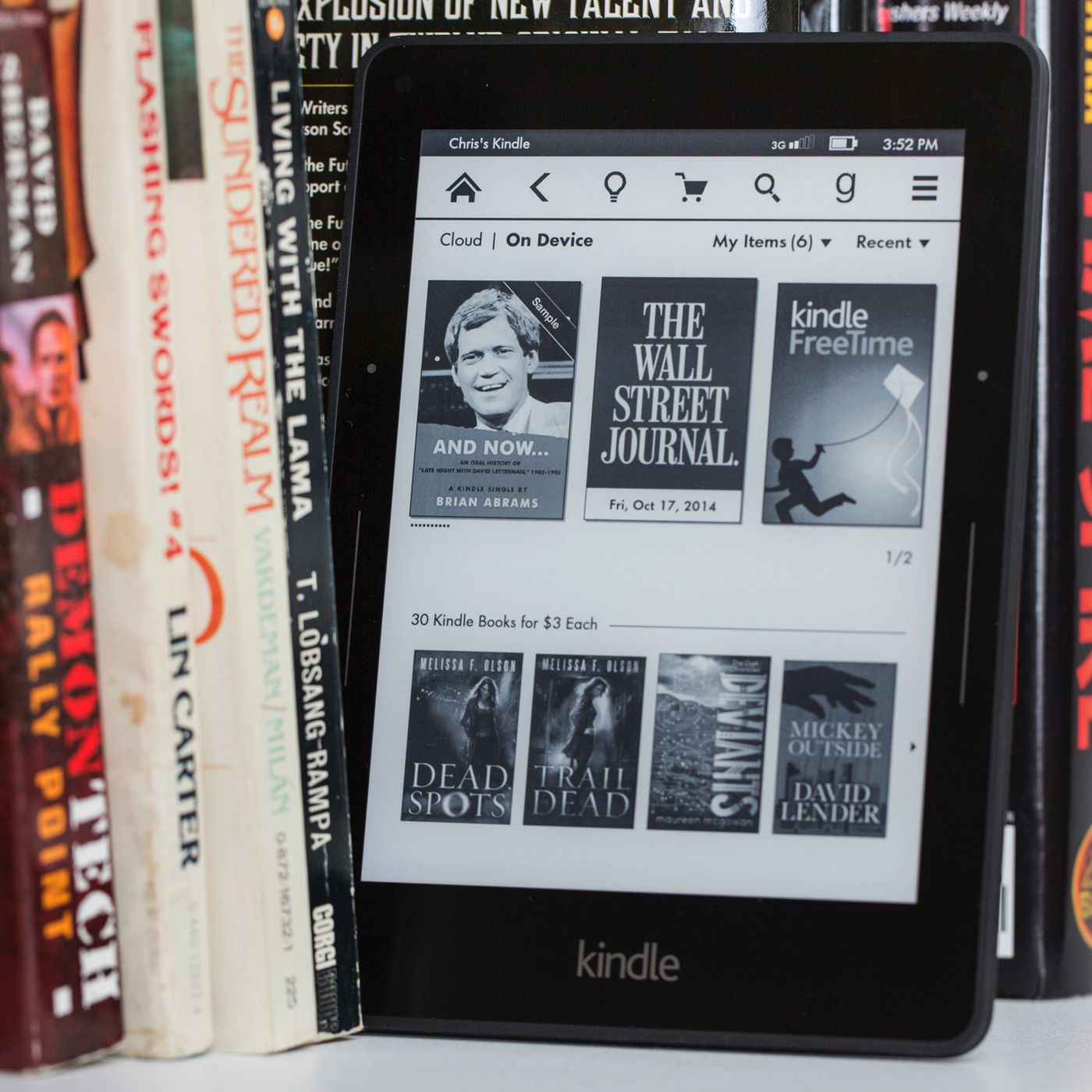 Amazon Kindle Voyage review | The Verge