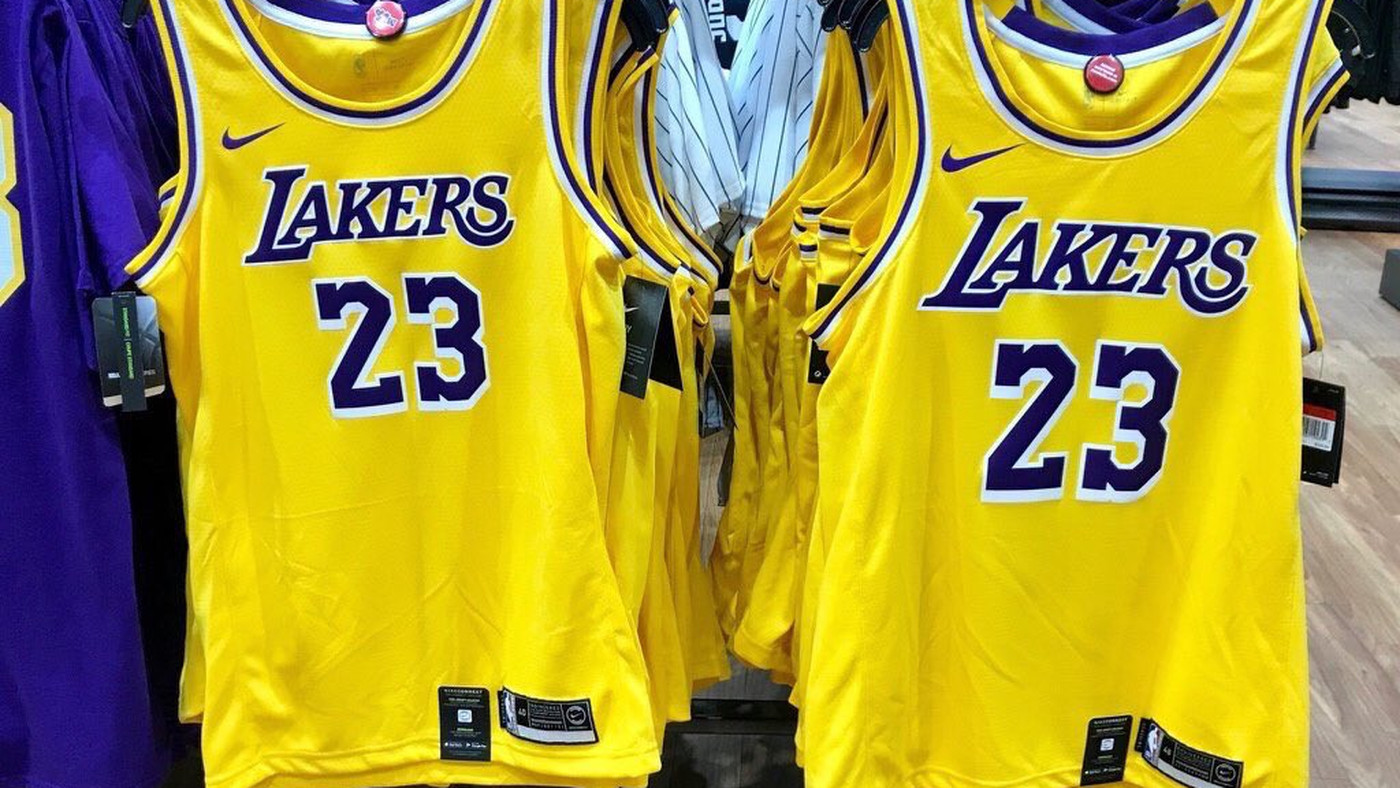 152243783 The new Lakers jerseys have leaked and fans are NOT happy with the color -  Silver Screen and Roll