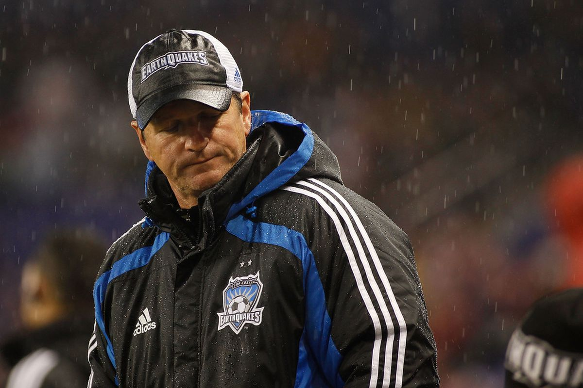 Under a shower of expectations entering the 2011 MLS season, Frank Yallop and the San Jose Earthquakes have slipped precariously toward a permanent residence in the standings basement. Are there sunny day ahead for Yallop and the Quakes?