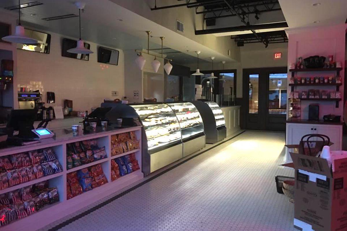 Inside the new Henri's Bakery location