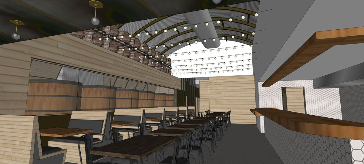 The Brewer's Table rendering