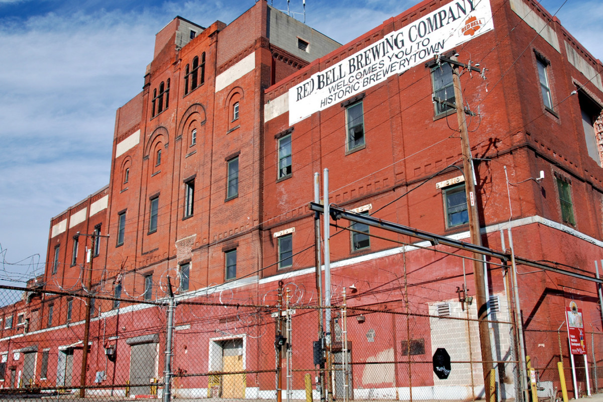 Apartments planned for long-vacant Red Bell Brewery in Brewerytown ...
